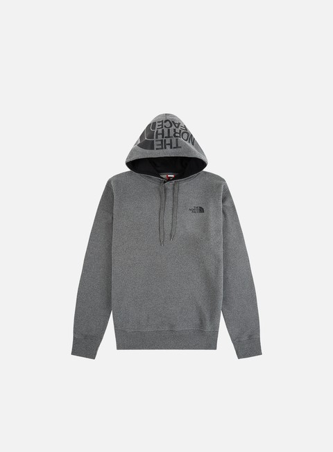 felpe the north face seasonal drew peak hoodie medium grey heather