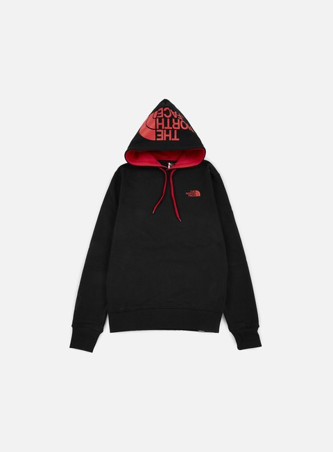 felpe the north face seasonal drew peak hoodie tnf black