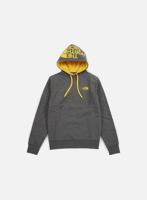 felpe the north face seasonal drew peak hoodie tnf dark grey heather
