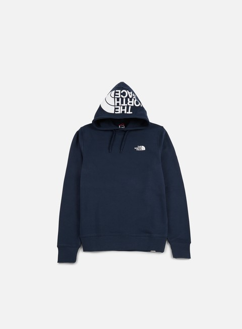 felpe the north face seasonal drew peak hoodie urban navy