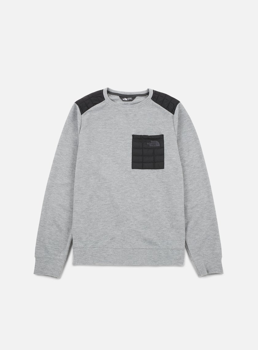 The North Face - Slacker ThermoBall Crewneck, Medium Grey Heather