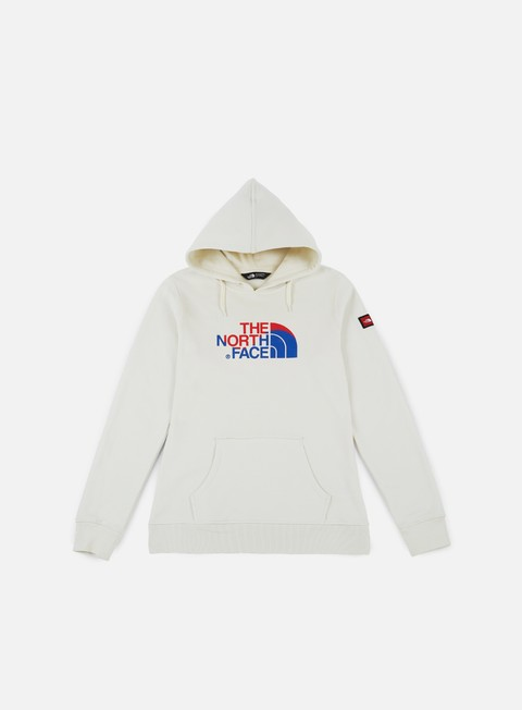 felpe the north face wmns international hoodie vaporous grey