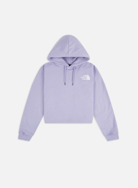 Hooded Sweatshirts The North Face WMNS Logo Drop Cropped Hoodie