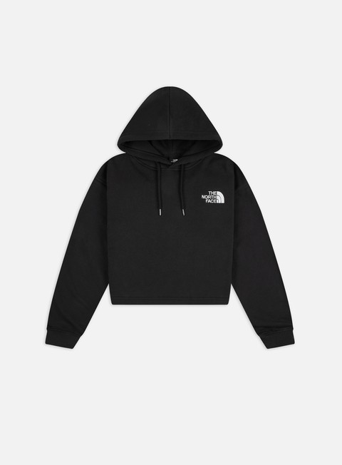 The North Face WMNS Logo Drop Cropped Hoodie