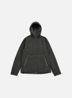 The North Face - Zermatt FZ Hoodie, Fuse Box Grey/Dark Heather