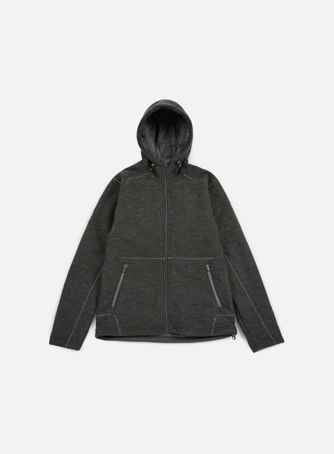 felpe the north face zermatt fz hoodie fuse box grey dark heather