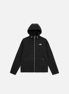 The North Face - Zermatt FZ Hoodie, TNF Black/Black Heather 1
