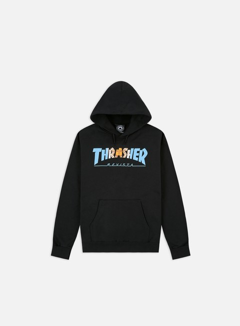 Felpe Logo Thrasher Argentina Hoodie