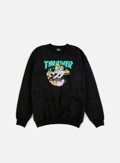 Thrasher - Babes Crewneck, Black 1