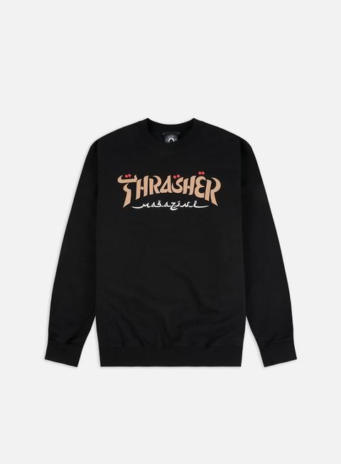 Crewneck Sweatshirts Thrasher Calligraphy Crewneck