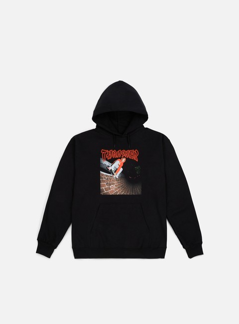 felpe thrasher china banks hoodie black