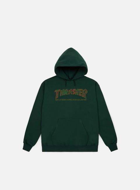 Sale Outlet Logo Sweatshirts Thrasher Davis Hoodie