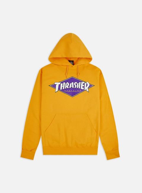 Outlet e Saldi Felpe con Cappuccio Thrasher Diamond Logo Hoodie