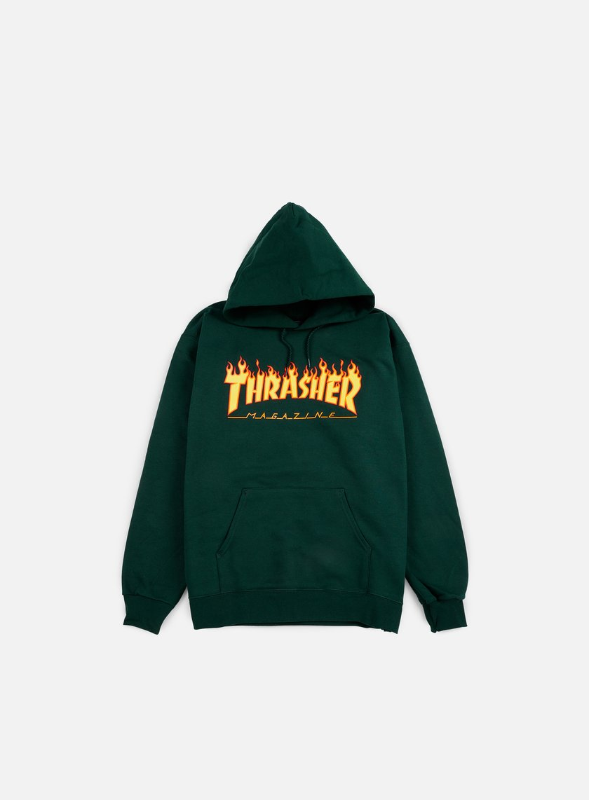 5caf17e4 THRASHER Flame Logo Hoodie € 89 Hooded Sweatshirts | Graffitishop