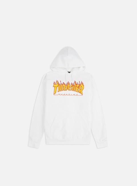 Hooded Sweatshirts Thrasher Flame Logo Hoodie