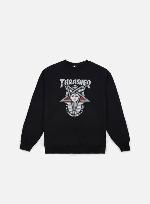 Crewneck Sweatshirts Thrasher Goddes Crewneck
