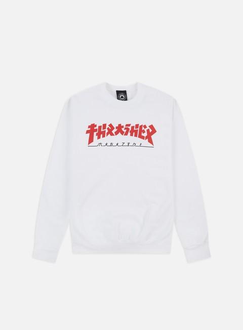 Felpe Logo Thrasher Godzilla Crewneck