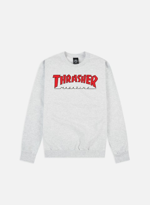 Felpe Girocollo Thrasher Outlined Crewneck