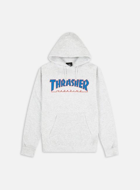 Hooded Sweatshirts Thrasher Outlined Hoodie