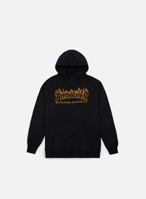 felpe thrasher richter hoodie black