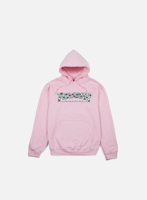 Hooded Sweatshirts Thrasher Roses Hoodie