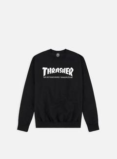 Thrasher - Skatemag Crewneck, Black 1