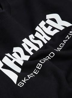 Thrasher - Skatemag Crewneck, Black 2