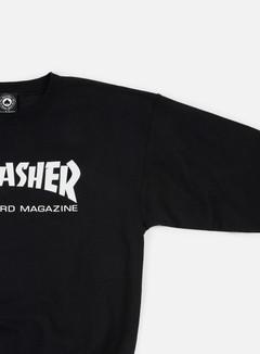 Thrasher - Skatemag Crewneck, Black 3