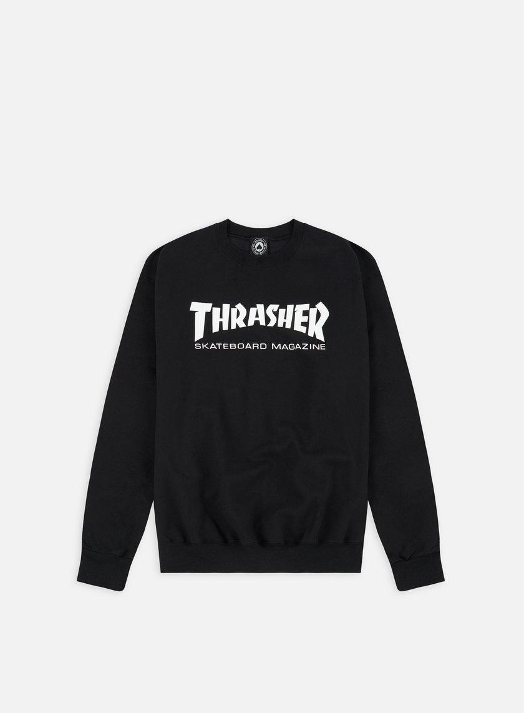 Thrasher - Skatemag Crewneck, Black