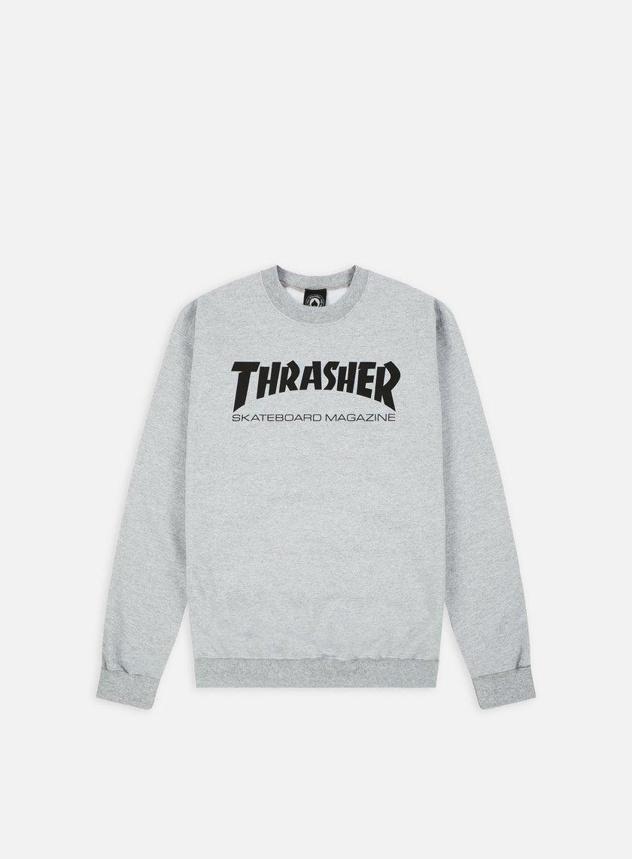 Thrasher - Skatemag Crewneck, Grey