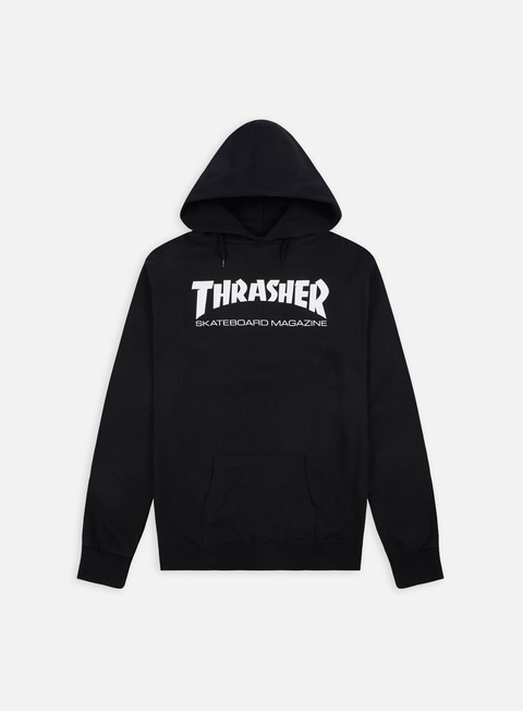 felpe thrasher skatemag hoodie black