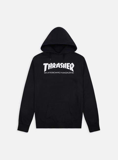 felpe thrasher skatemag hoodie black