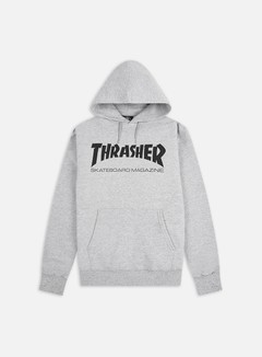 Thrasher - Skatemag Hoodie, Grey
