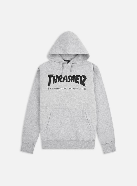 felpe thrasher skatemag hoodie grey