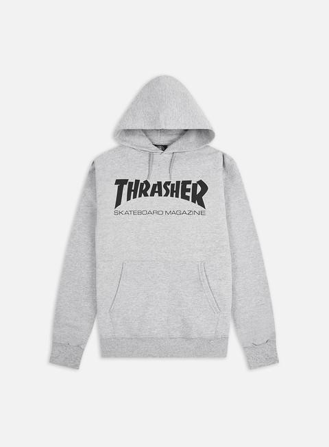 felpe thrasher skatemag hoodie grey