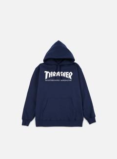 Thrasher - Skatemag Hoodie, Navy
