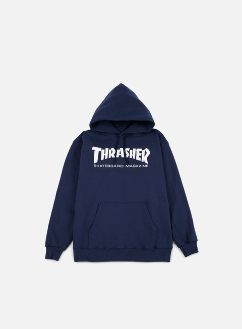 felpe thrasher skatemag hoodie navy