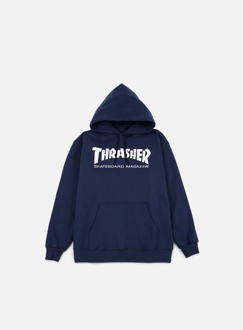 felpe thrasher skatemag hoodie navy