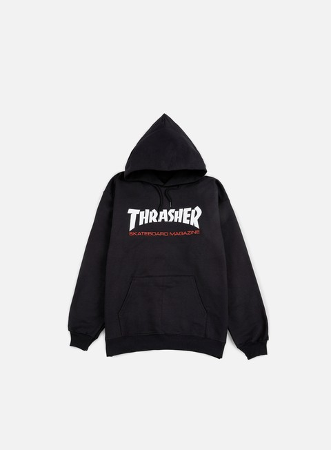 Hooded Sweatshirts Thrasher Two Tone Skatemag Hoodie