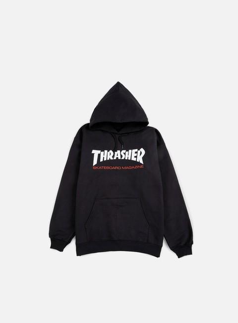 felpe thrasher two tone skatemag hoodie black