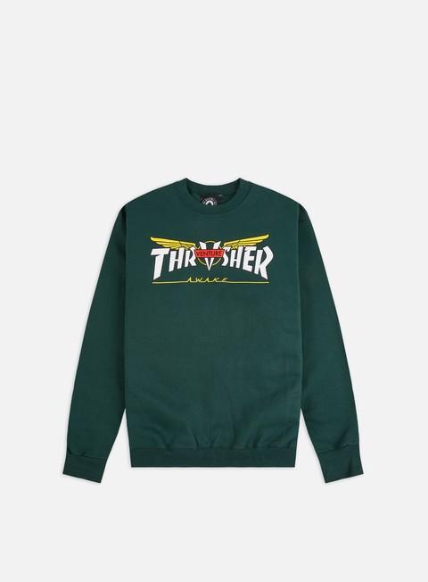Logo Sweatshirts Thrasher Venture Collab Crewneck