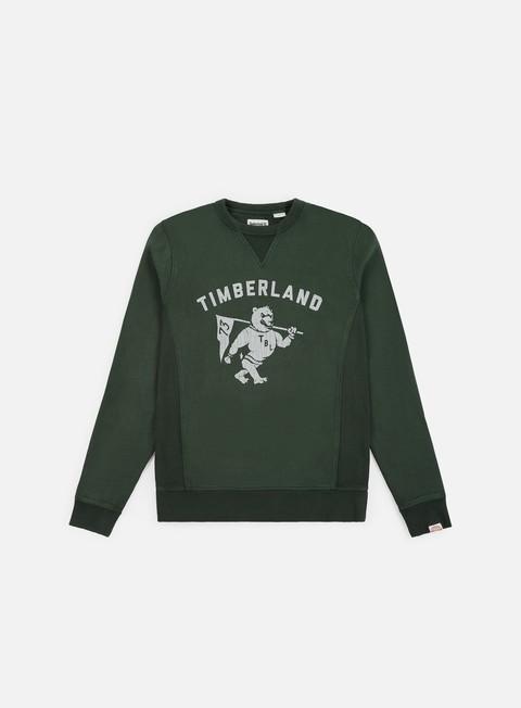 Outlet e Saldi Felpe Girocollo Timberland Brushback Gym Vintage Crewneck