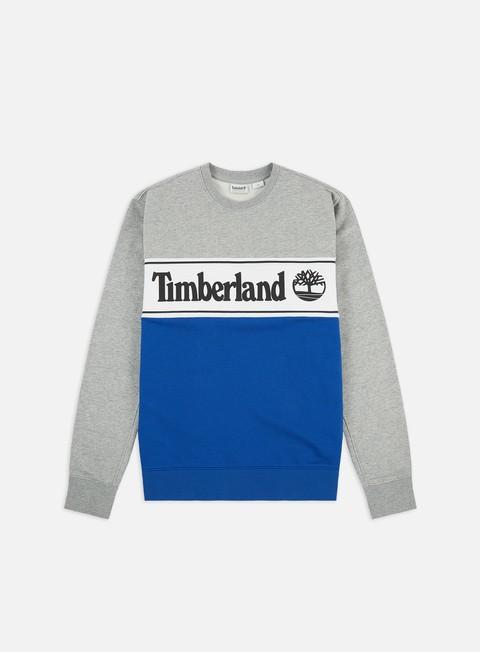 Felpe Girocollo Timberland Cut & Sew Lin Logo Crewneck