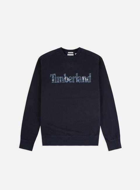 Outlet e Saldi Felpe Girocollo Timberland E-R Brand Logo Crewneck