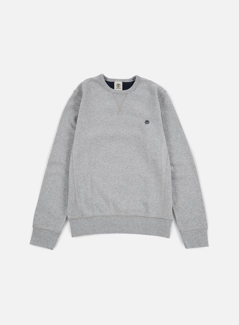 felpe timberland exeter crewneck medium grey heather
