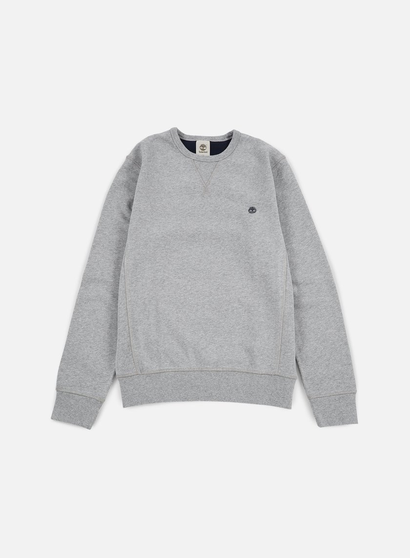 Timberland - Exeter Crewneck, Medium Grey Heather