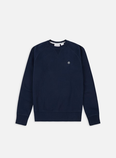 felpe timberland exeter river crewneck dark sapphire