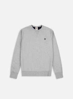 Timberland - Exeter River Crewneck, Medium Grey Heather