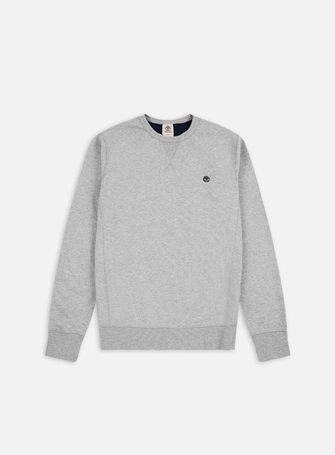 felpe timberland exeter river crewneck medium grey heather