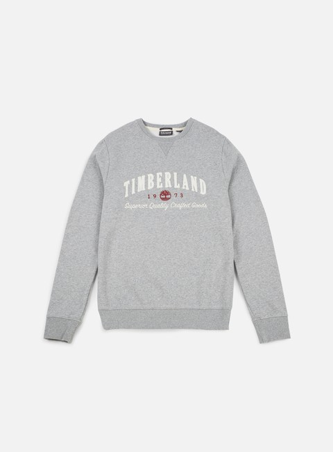 felpe timberland exeter river graphic brand crewneck medium grey heather